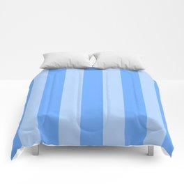 Sky Blue Stripes Comforters