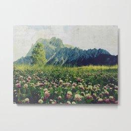 Spring Mountains Metal Print