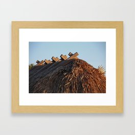 No One Knows the Story Framed Art Print