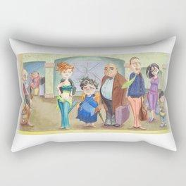 T Stop Rectangular Pillow