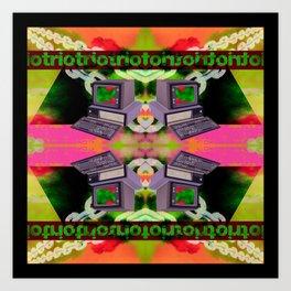 RIOT TRIO Art Print