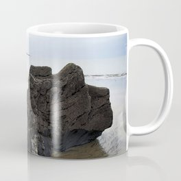Sentinel Beach Rock Coffee Mug
