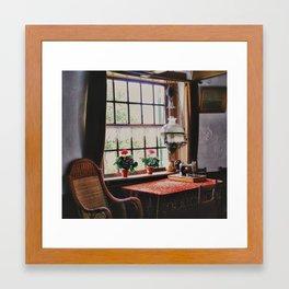 The old House Framed Art Print