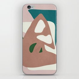 Abstract Minimal Shapes iPhone Skin