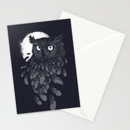Vanishing in the night II Stationery Cards