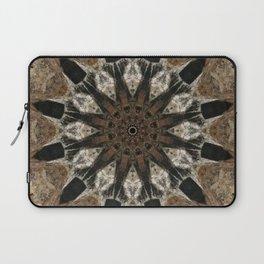 Mandala black Star Laptop Sleeve