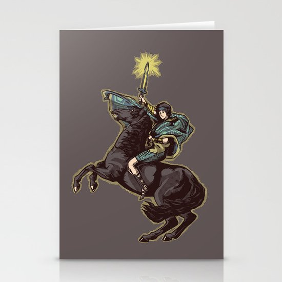 Crossing the forbidden lands Stationery Cards