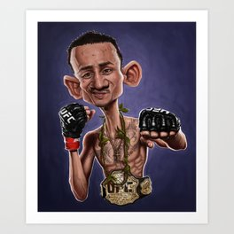 Max Holloway Art Print