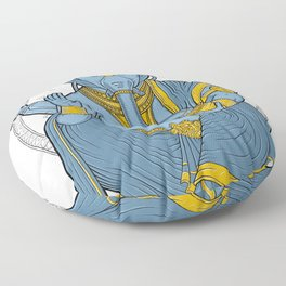 Alienphant Floor Pillow