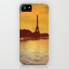 Paris from a Distance  iPhone Case