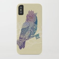 Owl King Color iPhone X Slim Case
