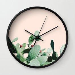 Cactus culture Wall Clock