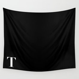 Initial T Wall Tapestry