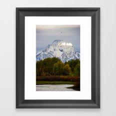 Morning in the Tetons Framed Art Print