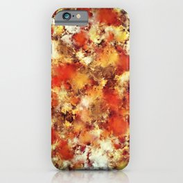 Hot water iPhone Case