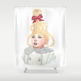 Cindy Lou Who Shower Curtain