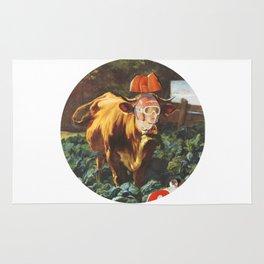 Kuh, Koller, Collage Rug