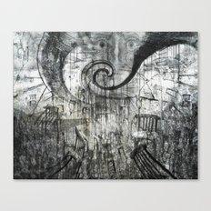 Beware Of Darkness Canvas Print