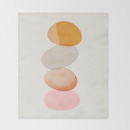 Abstraction_Balances_005 Throw Blanket