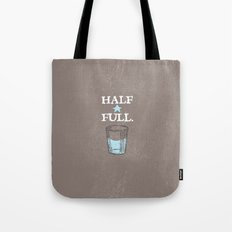 Half Full Tote Bag