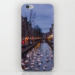 Paysage urbain d'Amsterdam // Amsterdam Cityscape iPhone Skin