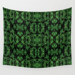Dark Nature Collage Print Wall Tapestry