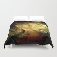 fairytale Duvet Covers featuring Fairytale by Nev3r