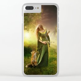 My Little Prince Clear iPhone Case