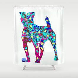 Dogs friend Shower Curtain