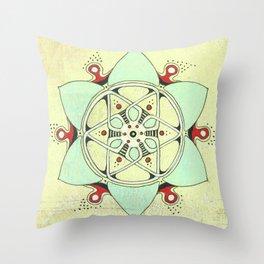 Urchin Star Throw Pillow