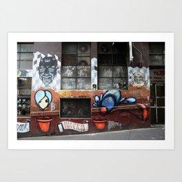 Hosier Lane 2 Art Print