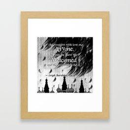 Six of Crows - Leigh Bardugo Framed Art Print
