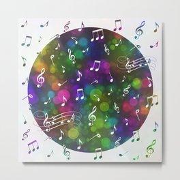 Music Multi 2 Metal Print