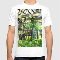 Nature Taking Over 2 MEDIUM White Mens Fitted Tee