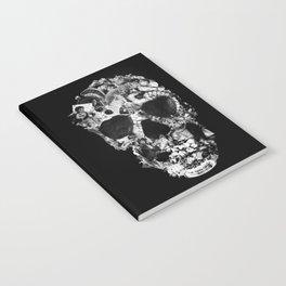 Vintage Skull BW Notebook