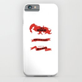 Redhead Fire In My Soul Red Hair Ginger Gift iPhone Case