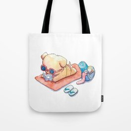 Reading Dawg Tote Bag