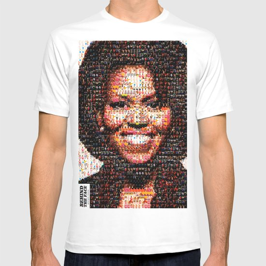 BEHIND THE FACE Michelle Obama   fat women T-shirt