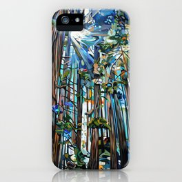 Golden Cedars iPhone Case