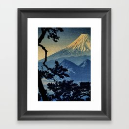 Seeing Far Within at Yonu Framed Art Print