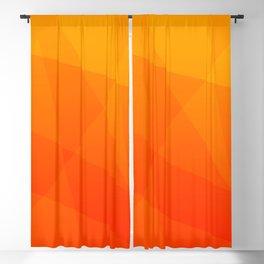 Orange Sunset Blackout Curtain