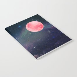 Pink Moon Notebook