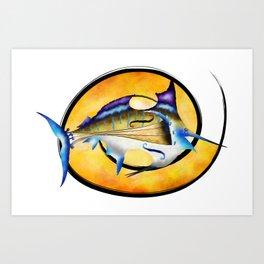 Marlinissos V1 - violinfish Art Print