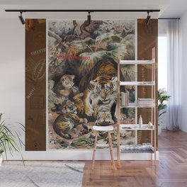 Tigers for Responsible Travel Wall Mural