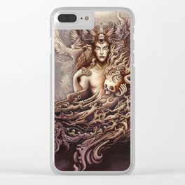 Blessing of Man [ Stuart Griggs ] Clear iPhone Case
