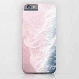 Blush Pink Blue Ocean Dream Waves #1 #water #decor #art #society6 iPhone Case