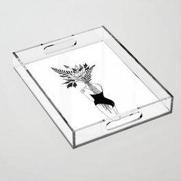 Fragile Acrylic Tray