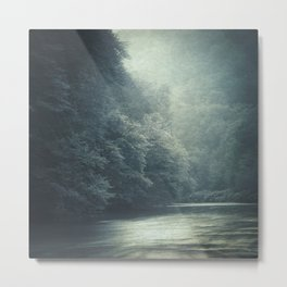 mystery river Metal Print