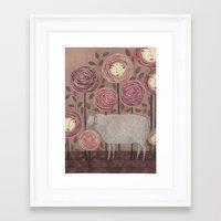 sleeping beauty Framed Art Prints featuring Sleeping beauty by Judith Clay