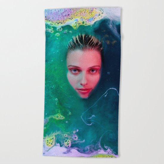 Primordial Soup of Beauty Beach Towel